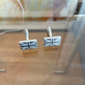 GBR British Flag Men's Cufflinks